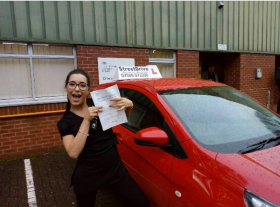 I passed! And couldn't thank 'Andy' enough. I have struggled with my nerves while driving and he really helped me regain my confidence and manage my nervousness. I couldn't recommend him enough. <br /> <br /> I had lessons with 'Andy' and within 3 months I passed. If you are a nervous person and are looking for someone who will help you not just pass but manage your nervous, 'Andy' is your guy - P
