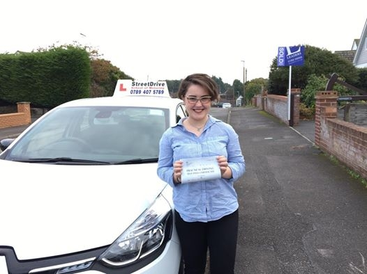 Well done to Emily Shimmons who passed her driving test today 1st Attempt at Poole DTC just SIX driving faults we are all delighted for you<br />