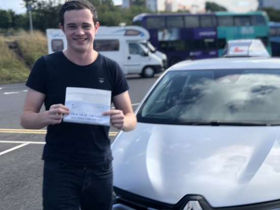 Congratulations James, 1st attempt, 0 faults, very well done 👋 🎊🎉<br /> <br /> It's been an absolute pleasure teaching you, take care mate.<br /> <br /> Passed Friday 1st October 2021.