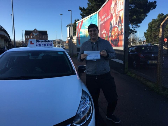 I did an intensive driving course with StreetDrive and it was exceptional how they taught be from scratch through to passing my test. <br /> <br /> <br /> <br /> My instructor 'Louise' was professional and friendly and excellent when ensuring I was really taking in the information I required to pass my test. <br /> <br /> <br /> <br /> They even managed to help me control how I felt on test day so I highly recommend learning to drive with t