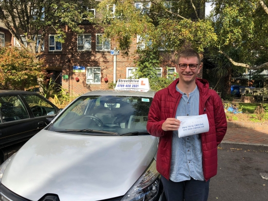 'Shaun' was a great instructor, he covered all the material and made sure I was confident and happy on the road. <br />