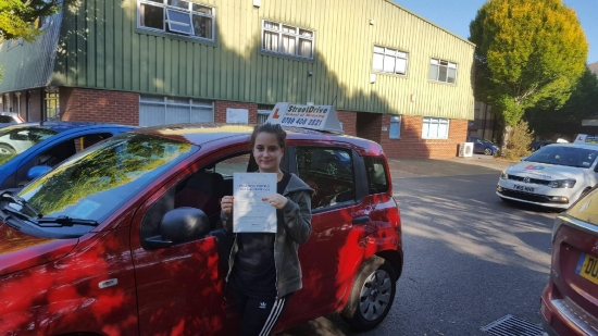 Just passed my driving test after doing my lessons with 'Bradley' from StreetDrive, he is a fab instructor and would recommend to anyone. <br /> <br /> He was very professional and after going through a couple of other school he is definitely the best. :) thank you! -Passed Thursday 11th October 2018.