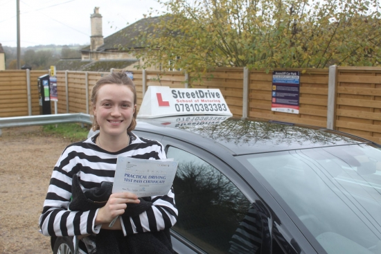 So pleased with passing first time all down to the great teaching <br /> <br /> <br /> <br /> Phil was very patient and friendly but clear with what I needed to improve on <br /> <br /> <br /> <br /> Would very highly recommend StreetDrive thanks Phil - Passed Monday 14th November 2016