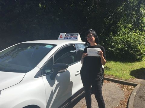 Delighted for Glynis Lomax who passed her driving test today at Poole DTC 1st Attempt just FOUR driving faults<br /> <br /> <br /> <br /> Well done from your instructor Louise and ALL of us at StreetDrive School of Motoring may we wish you many years of safe driving - Passed Wednesday 14th June 2017