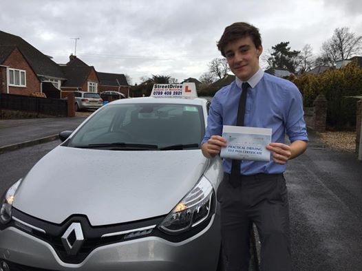 """Thank you Shaun for helping me pass my driving test"""" I am so glad I choose StreetDrive SoM <br /> <br /> <br /> <br /> Shaun is a brilliant instructor who is very punctual organised and helped me build up my confidence quickly <br /> <br /> <br /> <br /> I would definitely recommend him to anyone for his first class teaching - Passed Wednesday 1st February 2017"""