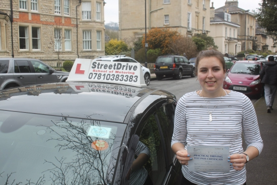 My experience with Street Drive was overwhelmingly positive and I thoroughly appreciated the kind and professional service I received from my instructor, Phil. He was patient and encouraging and this helped me a lot to pass my test.<br /> <br /> <br /> <br /> I would recommend them to anyone. Thank you Street Drive! Passed Friday 6th April 2018.