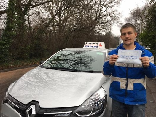 Delighted for Joe Woldon who passed his driving test this morning at Poole DTC just TWO minor faults fantastic news<br /> <br /> <br /> <br /> Well done from your instructor Shaun and ALL of us at StreetDrive School of Motoring may we wish you many years of safe driving - Passed Wednesday 15th February 2017
