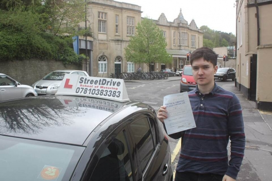 """Congratulations to """"Junichin Queen"""" who passed his test 1st time today at Chippenham DTC, just the 2 driving faults.<br /> <br /> Well done from you instructor """"Philip"""" and everyone at StreetDrive (School of Motoring), enjoy your freedom and please keep safe - Passed Wednesday 24th April 2019."""