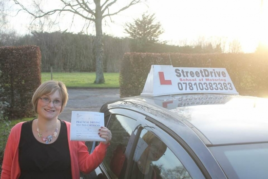 I passed my driving test '1st time' thanks to my excellent instructor 'Phil'. I would definitely recommend StreetDrive in particular Phil. <br />
