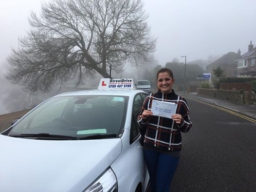 Thank you to my driving instructor Louise for being so patient and kind throughout my learning experience <br />