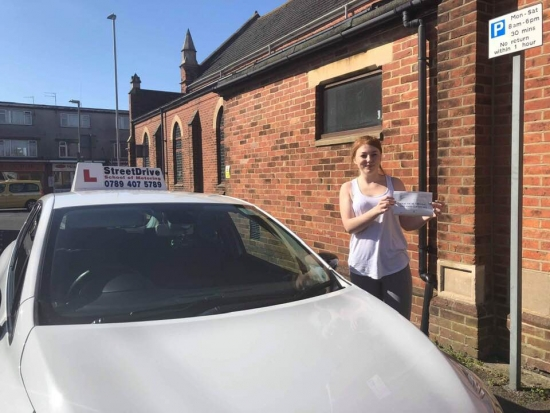 """Huge congratulationS to """"Lilith Barnby"""" who passed """"first attempt"""" today, at Poole DTC, very well done.<br /> <br /> Fantastic result, take care and all the best with your driving, keep safe - Passed Friday 26th March 2019."""