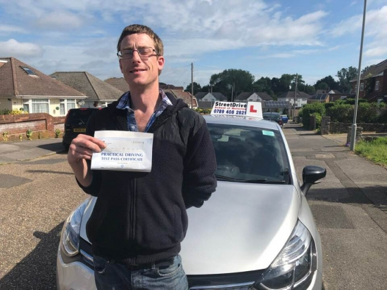 """Passed with """"ZERO"""" Driving Faults .......,<br /> <br /> Beep, beep, congratulations to """"Martin Heckford"""" who passed """"first attempt"""", """"ZERO"""" driving faults, at Poole DTC, excellent drive, very well done.<br /> <br /> Congratulations, all the best from your instructor """"Shaun"""", best of luck with your driving 🚘 🚘 - Passed Thursday 30th May 2019."""