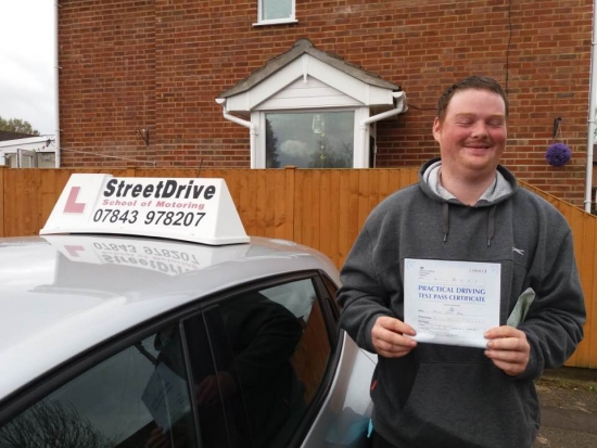 Thank you Roger for getting me through my driving test <br /> <br /> <br /> <br /> He is really good always on time very friendly and I would recommend Roger to anyone - Passed Wednesday 5th April 2017
