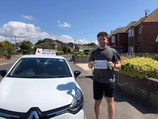 Passed first time! Would highly recommend StreetDrive, been a fantastic learning experience. <br /> <br /> Thank you Louise! - Passed Tuesday 16th July 2019.