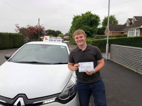 """Congratulations to """"Mike Pitcher"""" who passed today at Poole DTC, just the """"5"""" driving faults, very well done.<br /> <br /> All the very best from your instructor """"Louise"""", good luck with your driving, keep safe 🚘 🚘 - Passed Friday 17th May 2019."""
