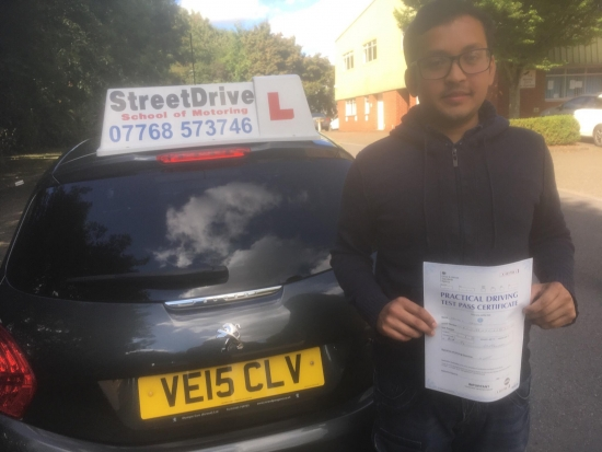 'Colin' was the best driving instructor I could have asked for! He made learning to drive a great experience and didn´t let me feel defeated or disappointed and you can´t ask for much more than that!<br />