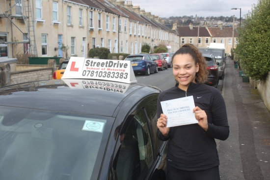I was incredibly nervous doing a 20hr intensive course in such little time but Phil was reassuring and patient and I went into my test knowing I was 100 ready <br /> <br /> <br /> <br /> I also passed 1st time with only 2 minors I couldnacute;t recommend StreetDrive enough thanks so much - Passed Friday 10th March 2017
