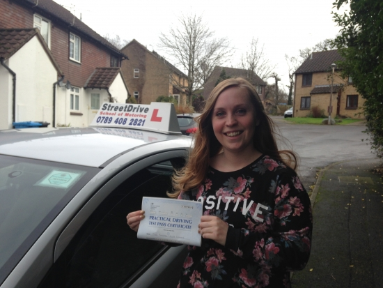 Fantastic driving instructor lots of patience and very helpful I would very highly recommend Shaun and StreetDrive SoM<br /> <br /> <br /> <br /> I passed my driving test 1st Time thanks to Shaun and his first class teaching style just wish I had found this driving school years ago - Passed Friday 18th December 2015