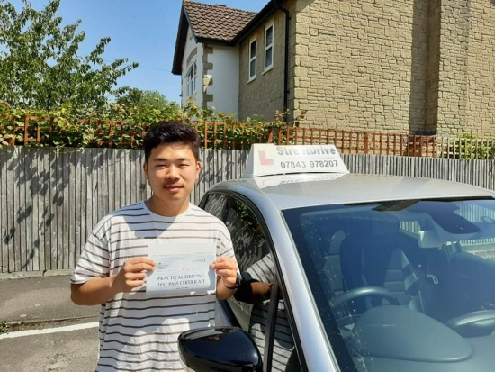 Passed my driving test in 1st attempt all thanks to 'Roger' (StreetDrive). He ensured that I understood everything about safe driving. During lessons he used different types of visual aids to help me understand points of turns and vehicle placement in the road. <br /> <br /> A very professional instructor with a lot of driving experience. Had a wonderful experience with Roger and would definitely recommen
