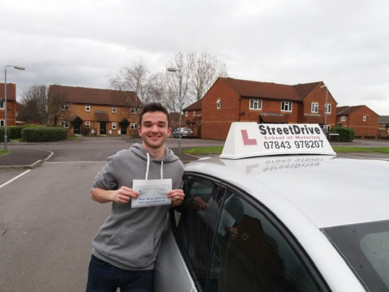 I managed to pass my test 'first time' all thanks to 'Roger'! He was an amazing driving instructor who was able to guide me through everything required for the test, whilst also giving me more advanced tips. <br /> <br /> He was also a great guy to get on with and he was always giving me motivation from lesson to lesson and allowing me to believe in myself. I could not recommend Rodger enough and I am v