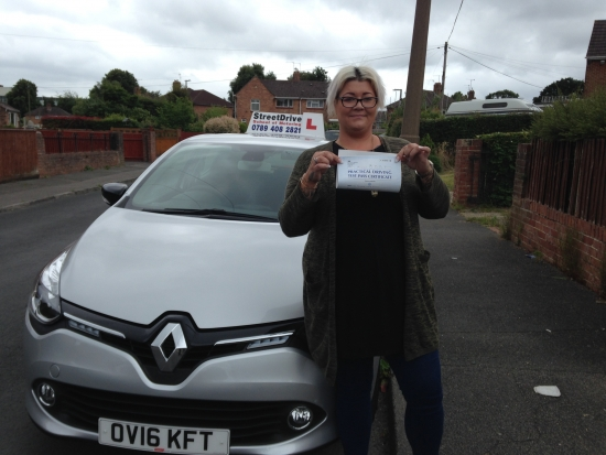 Congratulations to Rochelle Dulson who passed her driving test 1st Attempt today at Poole DTC very well done we are delighted for you<br />