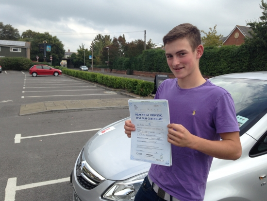 Congratulations 'Rory Doolan' who passed his driving test 1st attempt with just 5 driving faults today at Chippenham test centre. <br /> <br /> Well done from your instructor 'Philip' and everyone at StreetDrive (SoM) - Passed Thursday 14th June 2018.