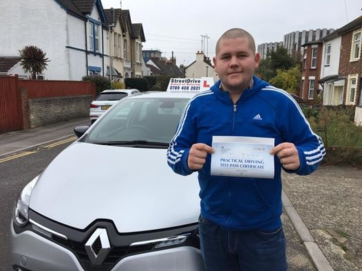So happy with my result today passed first time with Shaun with only one driving fault <br /> <br /> <br /> <br /> I would highly recommend Shaun and StreetDrive thank you for all your help Russell fancy - Passed Tuesday 1st November 2016