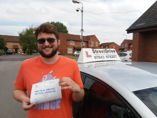 A fantastic teacher who pulls no punches in getting you trained and ready to start driving.<br /> <br /> Confident and happy to say I passed my driving test 'first time' and it could not have happened if not for Roger who taught me. <br /> <br /> His patience in all matters from nervous drivers to panicking on the road he handled everything with both professionalism and a friendly demeanour! - Passed Wednesday 15th