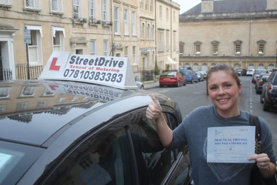 """Congratulations to 'Severina Iankova' who passed her driving test today at Chippenham DTC, and at the """"1st Attempt"""", fantastic news.<br /> <br /> <br /> <br /> Well done from your instructor 'Philip' and ALL of us at StreetDrive (School of Motoring), may we wish you many years of safe driving - Passed Tuesday 31st October 2017."""