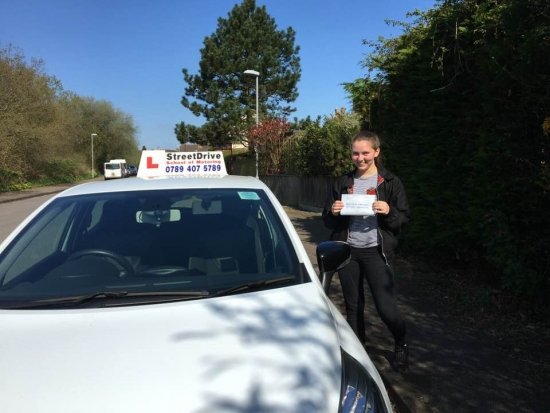 "Delighted for ""Shauna Attwater' who passed her driving test today at Poole DTC, it was her ""1st Attempt"" just ""FOUR"" driving faults.<br />