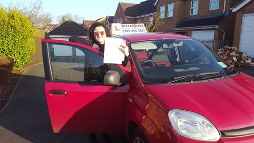 Congratulations to Zenya Simmons who passed her driving test today at Chippenham DTC TWO minor faults fantastic news<br /> <br /> <br /> <br /> Well done from your instructor Bradley and ALL of us at StreetDrive School of Motoring may we wish you many years of safe driving - Passed Monday 13th February 2017