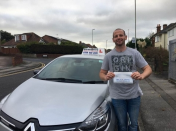 Delighted for 'Christian Duncan' who passed his driving test today at Poole DTC, '1st attempt', just THREE driving faults.<br />