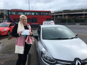 "Beep, beep, delighted for ""Sian Baker' who passed the new ""SatNav"" driving test today at Poole DTC, on her '1st Attempt', fantastic news.<br />