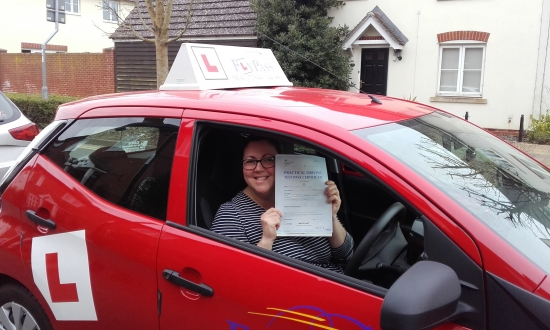 Sue is a brilliant driving instructor and i am very grateful for her endless patience teaching this slightly older than average learner Thank you Sue
