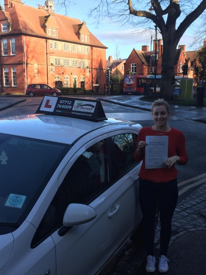 Brilliant drive from Paulina with 5 minors at Chester!