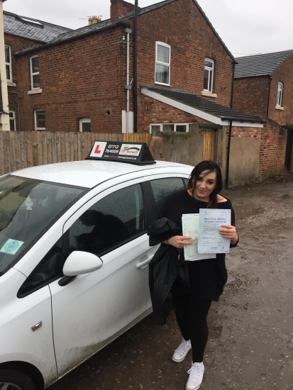 Only 3 minors great work Kasia!