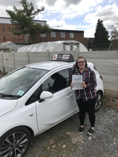 Great driving from Emma, passing 2nd time at Chester with 8 minors!