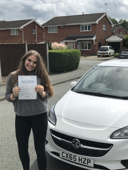 Huge congratulations to Ell for passing first time at Chester with 5 minors!