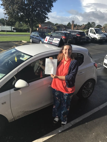 Well done Christine passing at Chester with 6 minors. Made up for you!