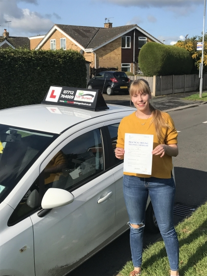 First time pass from Marta, well done great drive!