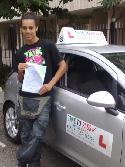 JAMES HEALY FROM LONDON WATNEY MARKETE1 Passed first time Hi everyoneI found learning to drive with Time to Pass Driving School a terrific experienceMy instructor Rahman was extremely friendly and efficientThe feedback I recieved after lessons was extremely positive and confidence boostingThis feedback and honesty resulted in me passing my driving test FIRST TIMEwhich I was really thr