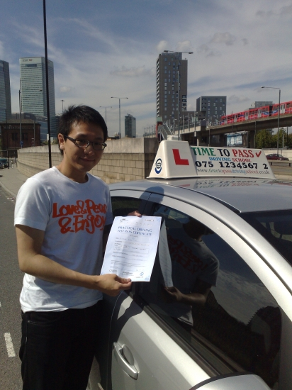 Rahman - attentive patient and knowledgeable <br /> <br /> A big thanks to you Rahman who have helped me to pass first time with only 1 minor fault<br /> <br /> i would highly recommend time to pass driving school to anyone<br /> <br /> <br /> <br /> Regards<br /> <br /> Lam