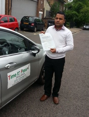 My instructor Nurul from time to pass driving school is very reliable always on time excellent at teaching and has great techniques that can be easily rememberd I strongly recommend Nurul as an instructor <br /> <br /> <br /> <br /> <br /> <br /> Regards<br /> <br /> Rajel