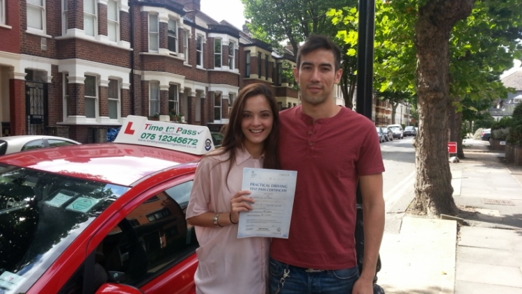 Driving lessons with Time To Pass Driving School