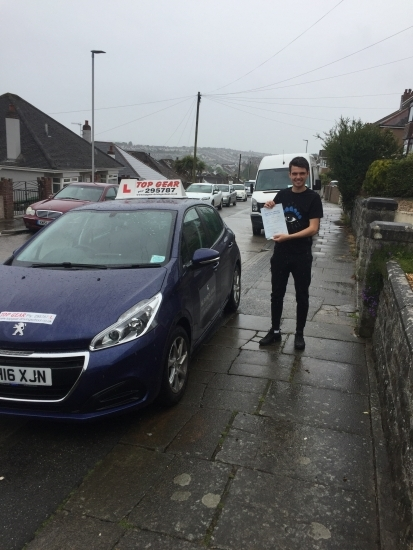 Great 1st time pass Connor