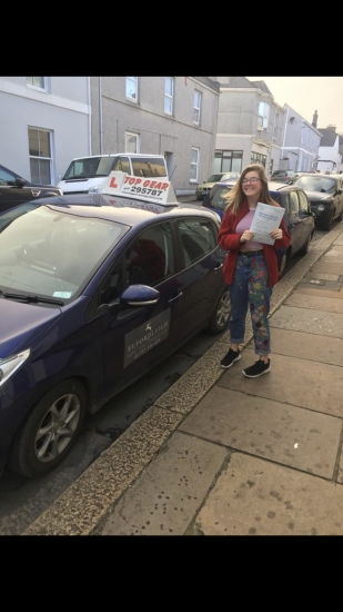 Great Drive Gemma with just 2 minor faults 🎉🎉🎉🎉