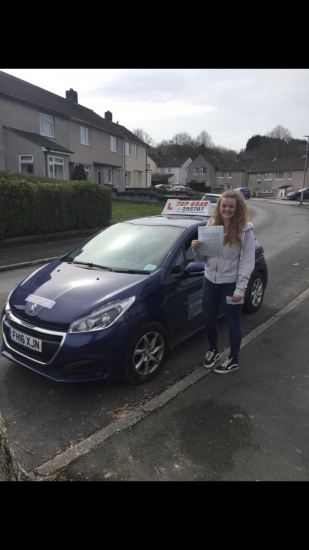 Great Drive Sophie with only 2 minor faults!