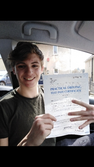 I have just passed my test today. Id like to thank Gillian for getting me through the practical driving test. From day one we established a good bond which made the process a lot easier. Her instructions were clear throughout and I was able to develop my driving skills in no time. I would highly recommend Gillian to anyone