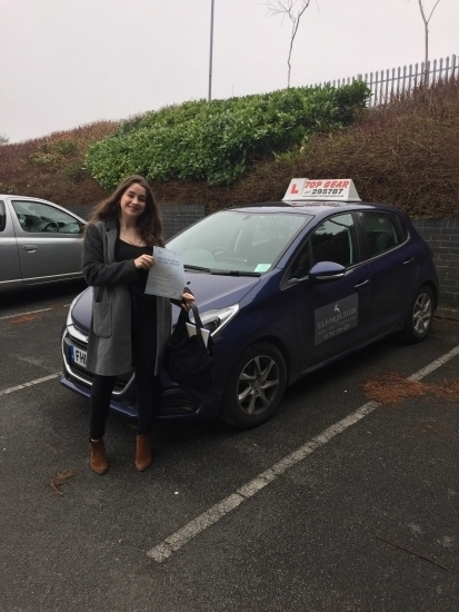 Congratulations Kali Andrews on passing your driving test in Plymouth this morning Great Drive 🚗💭