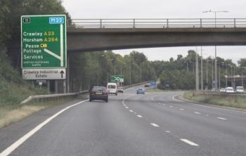 A23 Exit Pease Pottage